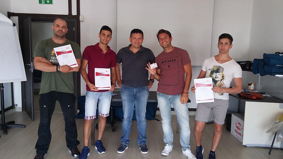 partecipanti corso BLS 07.07.16